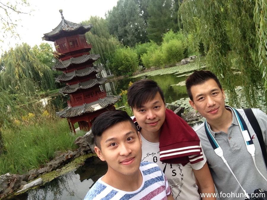 Gärten der Welt Berlin Selfie