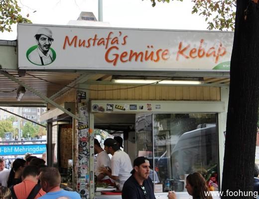 Mustafas Gemüse Kebap Berlin ist so lecker!