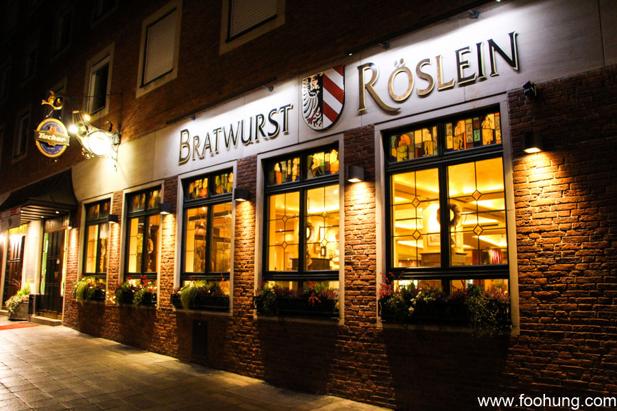 Bratwurst röslein nürnberg